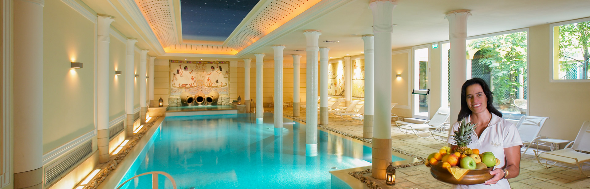 27 Roman-Style Swimming-Pool Gym Steam And Sauna  Decor23